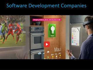 software developement companies