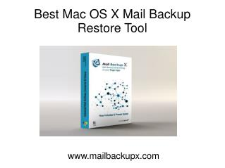 Mac OS X Mail Backup Restore Application from InventPure