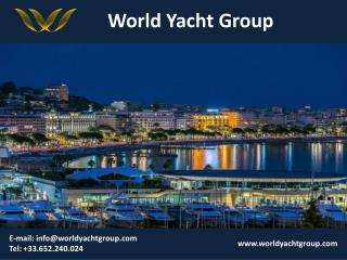 Luxury Yachts in South Of France