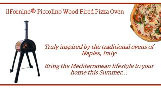 ilFornino® Piccolino Wood Fired Pizza Oven