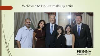 Professional makeup artist in Singapore