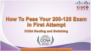 Download Cisco 200-125 CCNA Exam PDF Questions Answers
