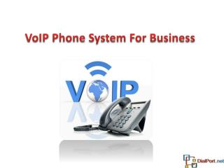 Business VoIP Phone System Solution – DialPort.net