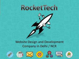 RocketTech Website Design and Development Company in Delhi