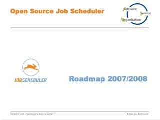 Roadmap 2007/2008