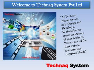 Best Website Designing Company in Noida