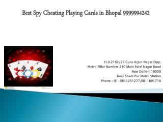 Best Spy Cheating Playing Cards in Bhopal 9999994242