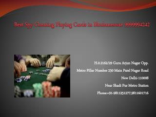Best Spy Cheating Playing Cards in Bhubaneswar 9999994242