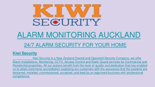 Residential Security, CCTV Service.
