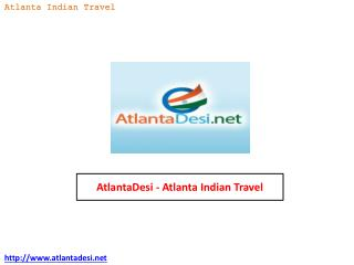 AtlantaDesi - Atlanta Indian Travel