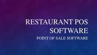 Restaurant POS Software - Checpos