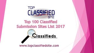 Top 100 Directory Submission Sites for Seo