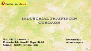 Industrial Training in Gurgaon, Delhi NCR
