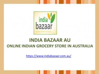 India Bazaar | Online Grocery Shopping Australia