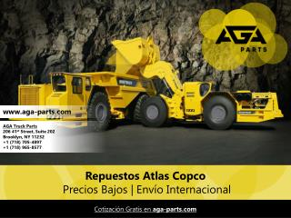 Aga Parts Repuestos Atlas Copco