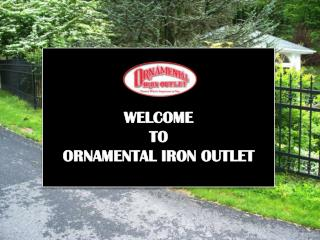 Ornamental Iron Outlet