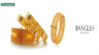 Exclusive Gold Bangles | Chungath Jewellery