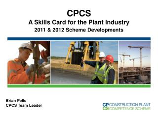 CPCS A  Skills Card for the Plant Industry 2011 & 2012 Scheme Developments
