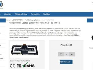 Replacement Laptop Battery For Asus VivoTab TF810