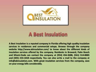 Miami Insulation Services
