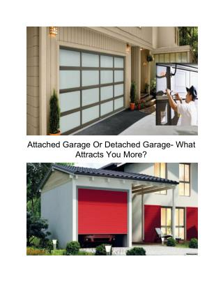 Garage door replacement services at your doorstep