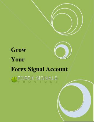 Profit-Generating Forex Alert Signal via Direct SMS