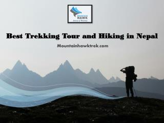Best Trekking Tour and Hiking in Nepal