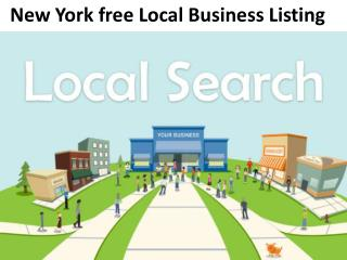New York Free local Business Listing