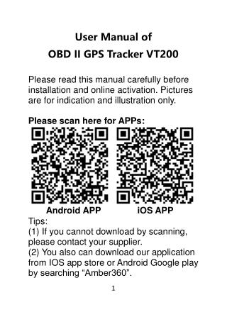 OBD 2 Car GPS Tracker – A simple  Plug& Play Device