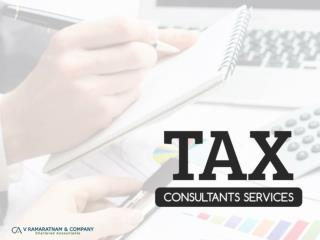 Tax Consultants Services