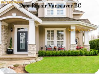 Door Repair in Vancouver BC