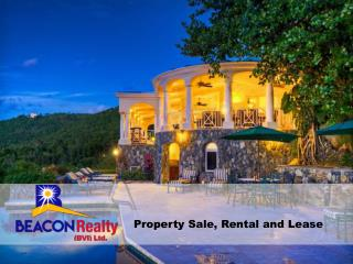 Luxury Homes and Villas for Sale in the British Virgin Islands.