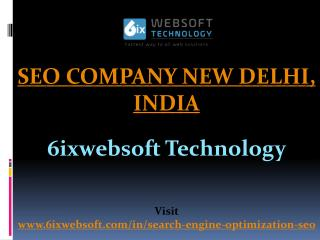 SEO Company New Delhi, India