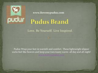 Pudus Brand - Warm & Cozy Slipper Socks