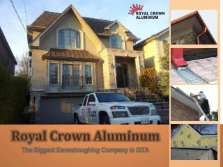 Royal Aluminum Siding Toronto
