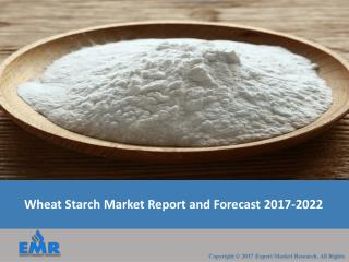 Wheat Starch Market | Size | Share | Industry Report 2017-2022