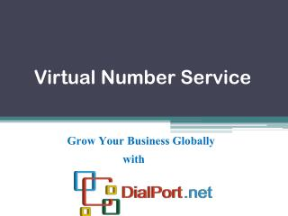 Virtual Number Service Provider in US | DialPort.net