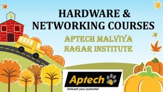 Aptech Malviya Nagar Center is Top ten Institute for Hardware and Network course