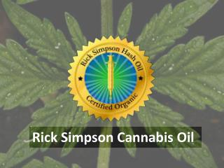 Rick Simpson Cannabis Oil