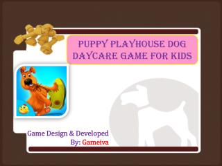 Puppy Playhouse Dog Daycare Game for Kids
