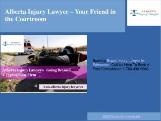 Personal Injury Lawyer In Edmonton