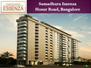 Lavish Homes at Sumadhura Essenza | Bangalore - Call: ( 91) 7289089451