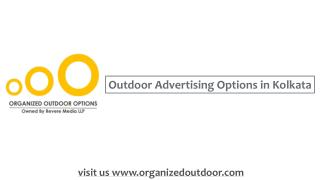 Outdoor Advertisement in India | Organized Outdoor