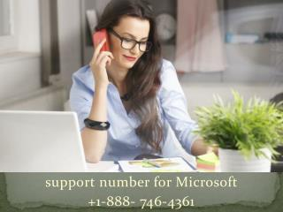 support number for microsoft | 1-888- 746-4361