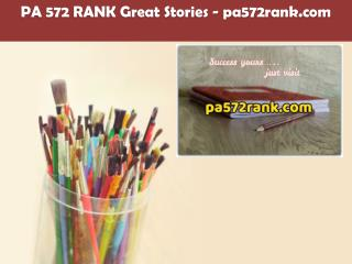 PA 572 RANK Great Stories /pa572rank.com