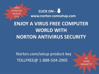 Update your computer with Norton.com/setup antivirus call@1-888-504-2905