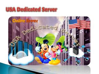 Usa Dedicated Server - Onlive Server Technology LLP