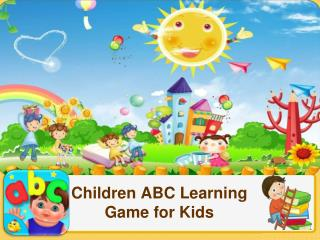 Children ABC Learning Game for Kids