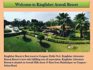 Best Resorts in Gurgaon