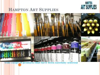 Acrylic Paint - Hampton Art Supplies